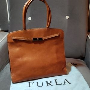 Furla leather purse made in Italy
